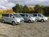 Our fleet of 8 Ford Tourneos are specifically designed for smaller groups