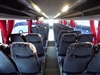 Fuill sized coach seats give the same level of comfort you expect from any of our executive fleet