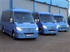 Our fleet of Mercedes-Benz Sprinter Mini Coaches are specifcially designed for small groups